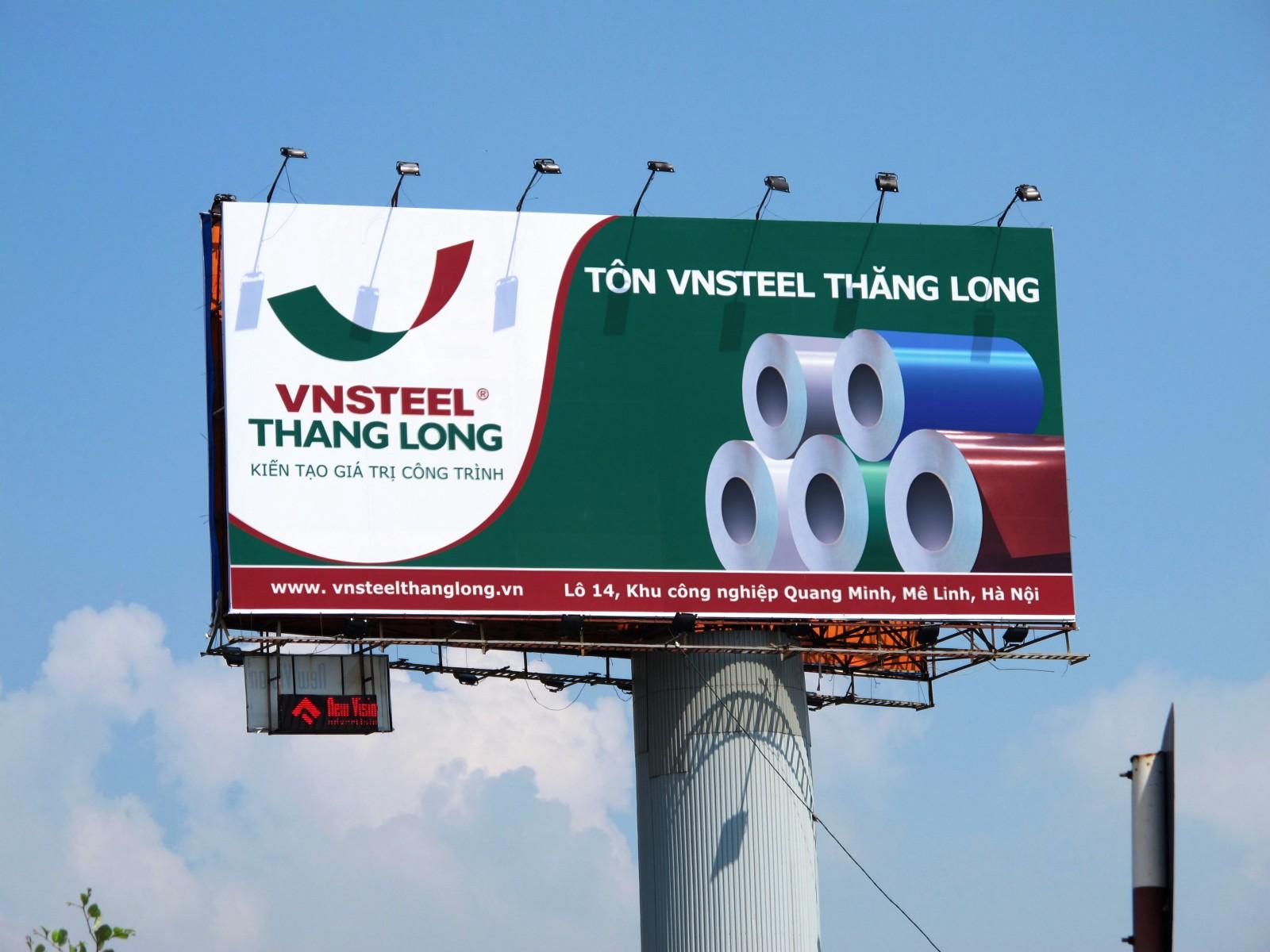 Bảng hiệu cho công ty là một hình thức biển quảng cáo có ghi tên chính thức