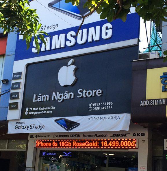 Địa chỉ làm biển quảng cáo cửa hàng chất lượng tại Hà Nội