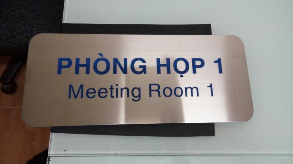 bảng hiệu văn phòng