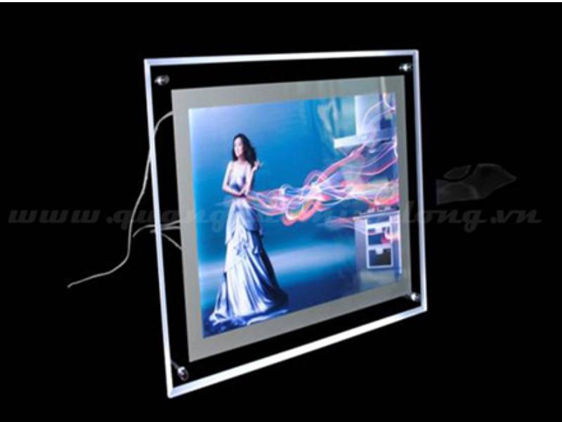 Hộp đèn led siêu mỏng tiện ích, giá rẻ