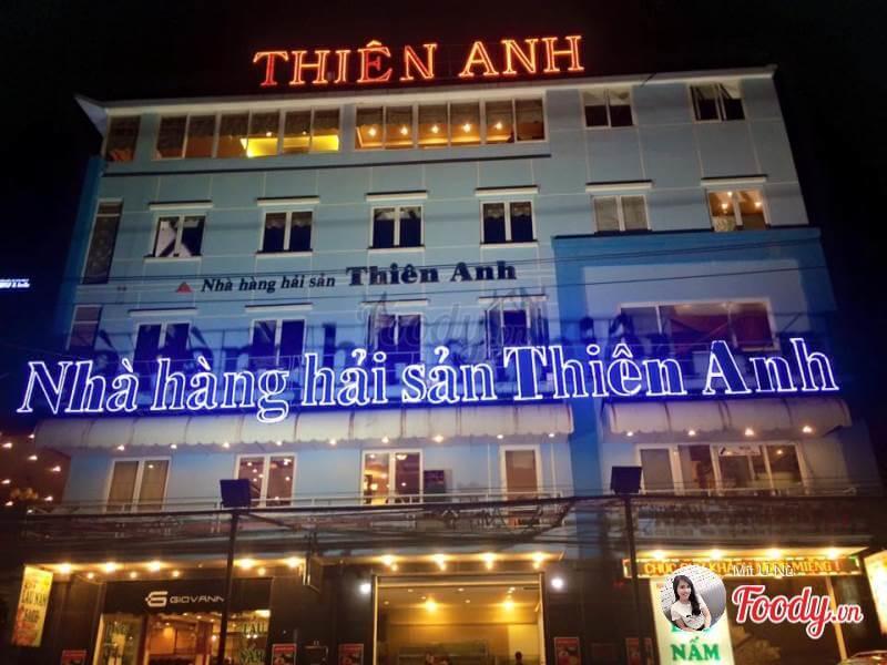 làm mẫu biển quảng cáo hải sản ở Sao Hà Nội