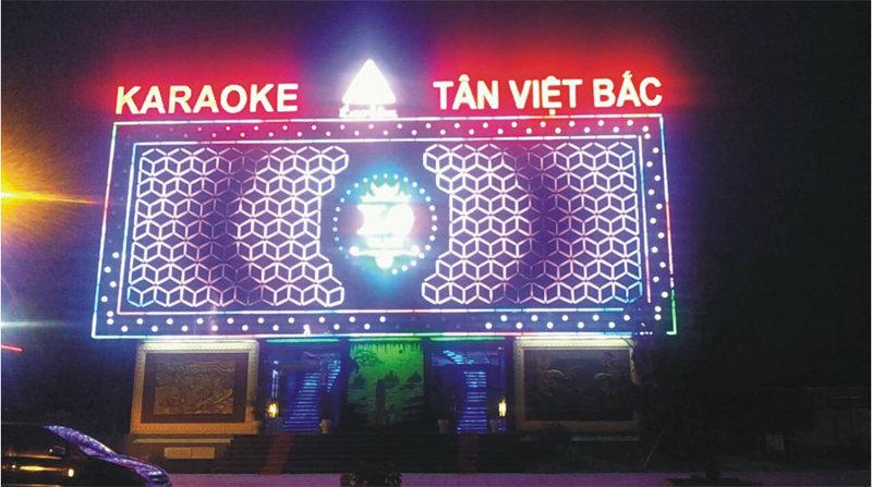 Những thiết kế biển led karaoke đẹp không thể bỏ qua