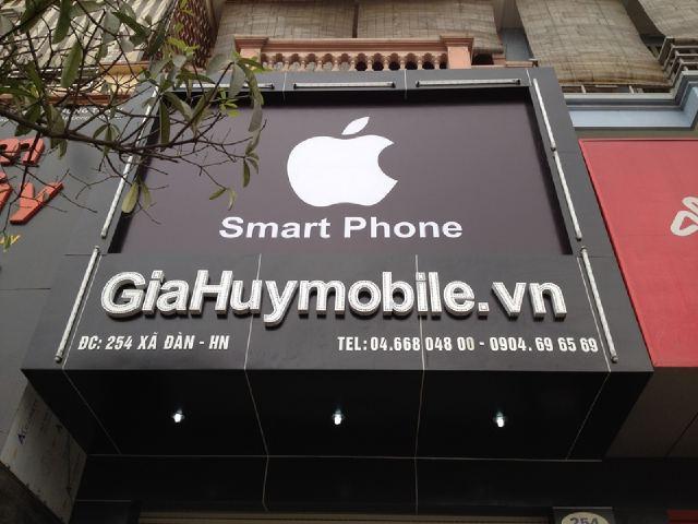 mẫu bảng hiệu điện thoại